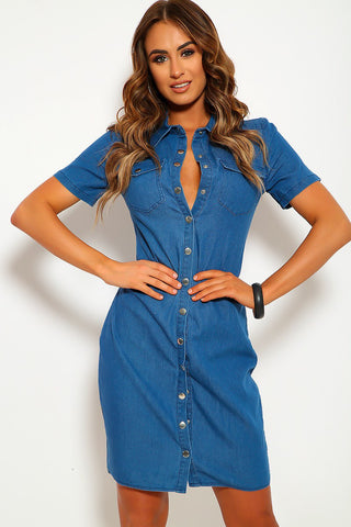 Kelsey Denim Dress