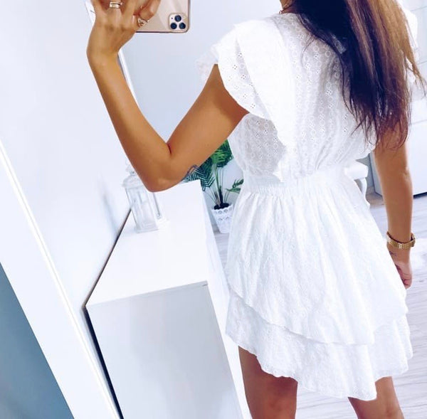 Immy White Lace Dress