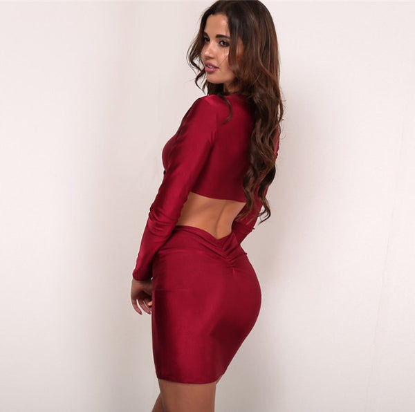 Ally Red Two Piece