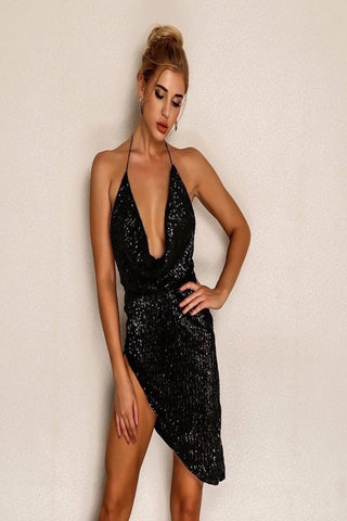 Hilary Sequin Dress
