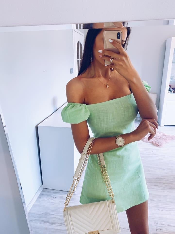 Carly Mint Bodycon