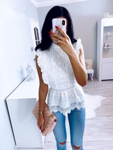 Lorena Crochet Top