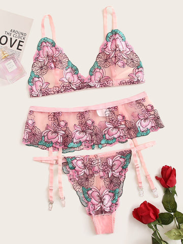 Secret Garden Lingerie Set