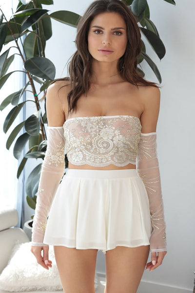 Marie Lace Two Piece