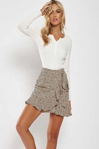 Lucy Wrap Skirt