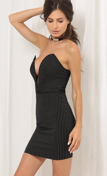 Margot Stripe Bodycon