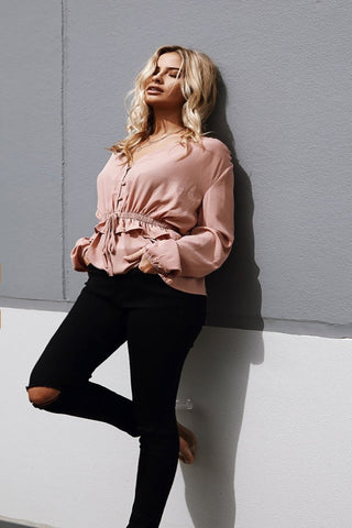 Mollie Ruffle Top