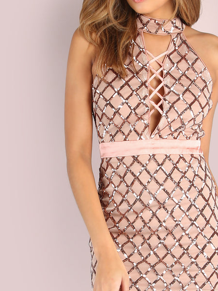 Alexandria Sequin Dress
