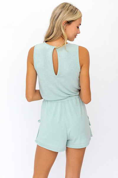 Amelia Sage Playsuit