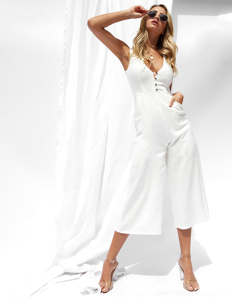 Tilly white Jumpsuit