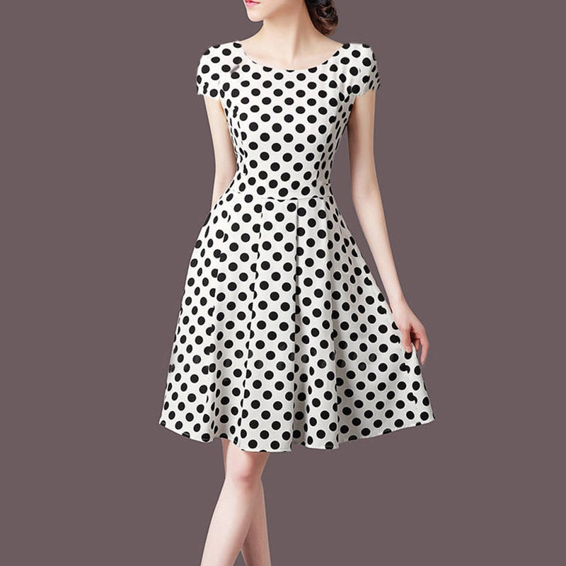 Polka Dot V neck Sundress - Other Hands