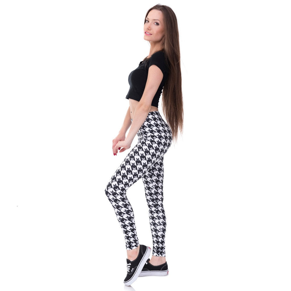 Houndstooth Leggings - Other Hands