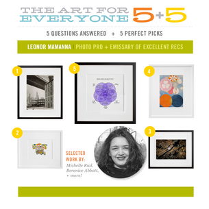 1 unmissable newsletter + 5 fresh art picks? Leave it to Leonor!