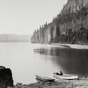 This gorge is gorg: Carleton Watkins at the Columbia River
