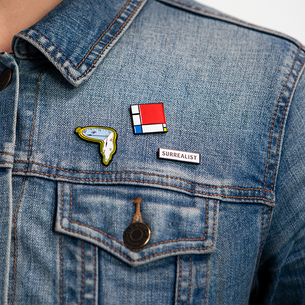New! These Pin Museum wearables make perfect stocking stuffers.