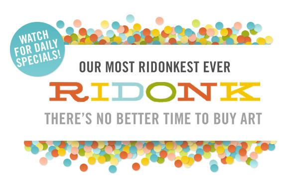 The Ridonkest RIDONK: A New Discount Every Day