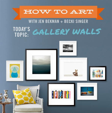 How to Art: Refresh Your Gallery Wall