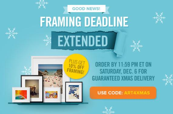 New Mike + Doug Starn Edition Launches | Framing Deadline Extended