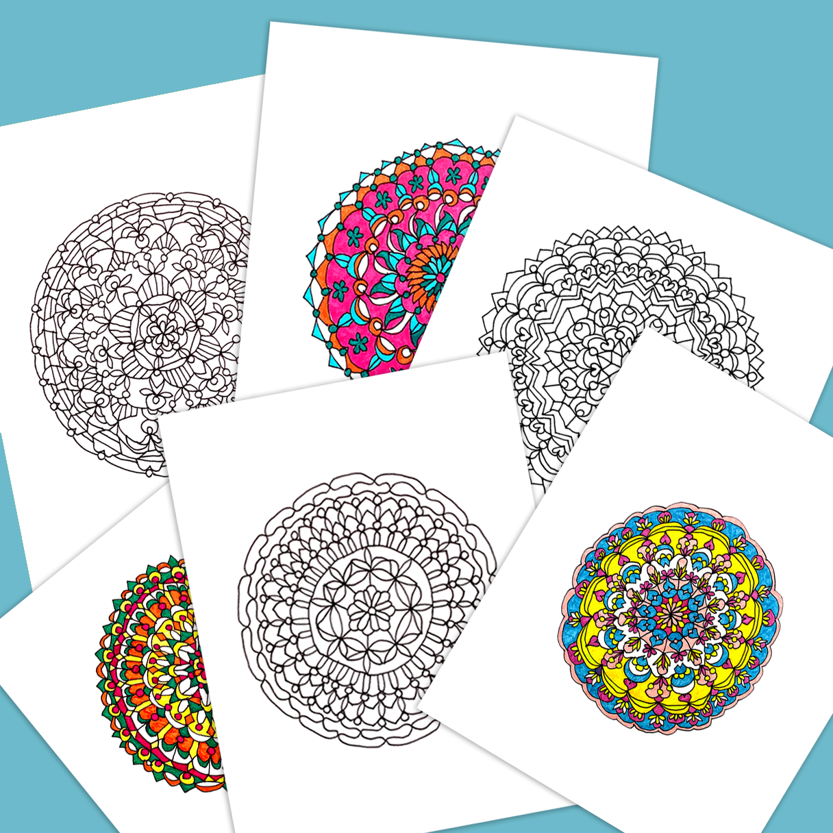 Color Us Calmed Free Coloring Pages To Clear Your Mind 20x200