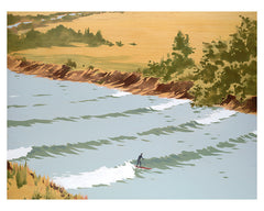 Untitled, Tidal Bore (Surfer)