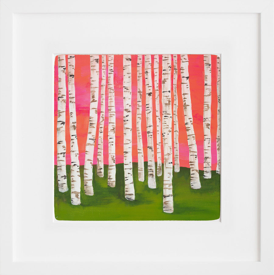 Birch Forest No. 7