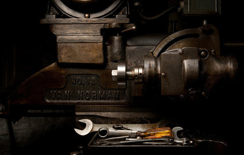 Van Norman No. 12 Duplex Milling Machine