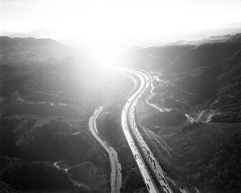 Golden State Freeway/San Fernando Pass; from Los Angeles 02.12.04