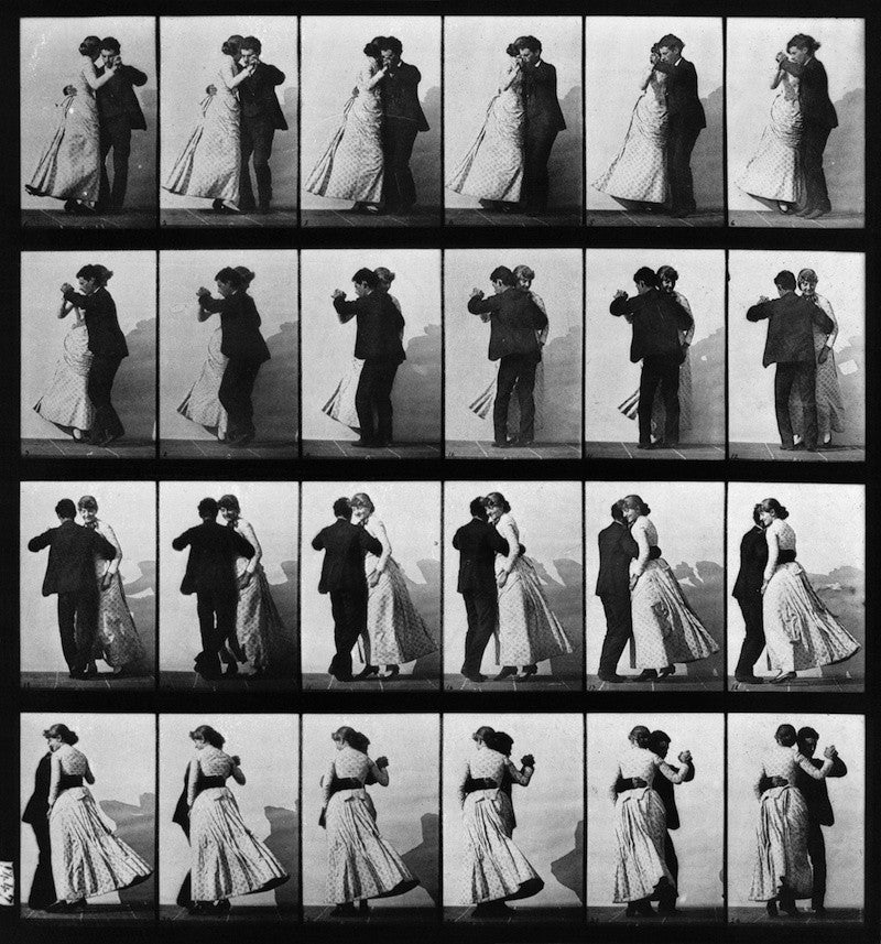 Animal Locomotion; Plate 197 (Couple Dancing)