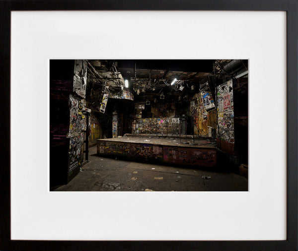 CBGB (Stage) (framed + quick-ship)