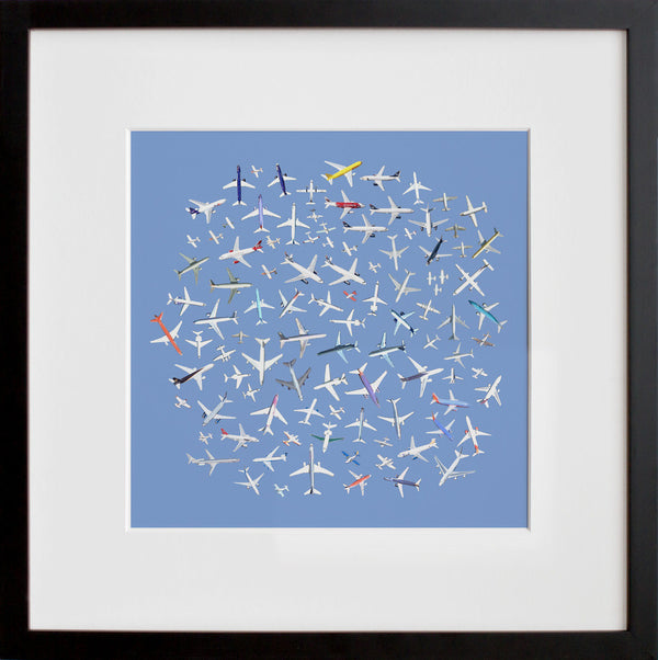 104 Airplanes (framed + quick-ship)