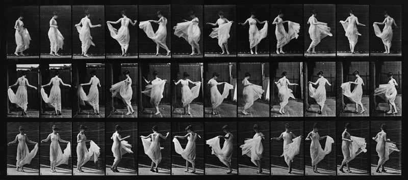 Animal Locomotion; Plate 187, Dancing (Fancy)