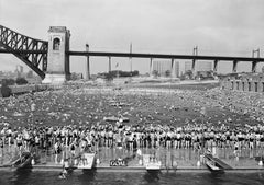 Swimming Contest, Astoria Pool, 1936