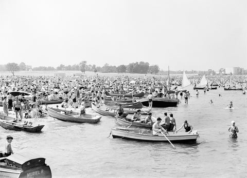 Orchard Beach, Row Boats, 1938