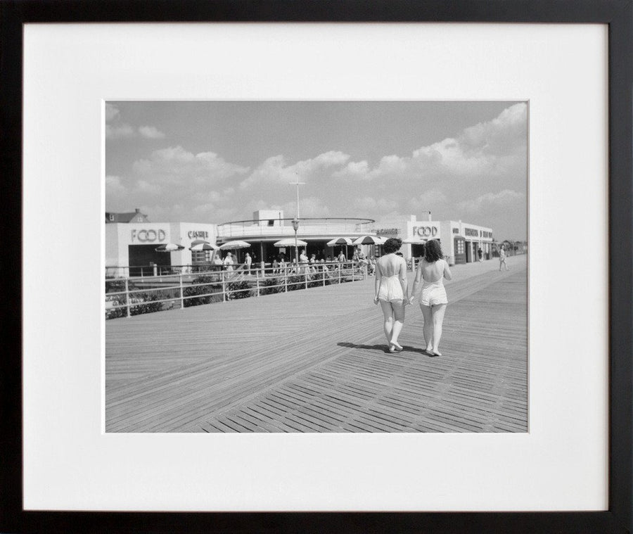 Rockaway Beach, Food Concession, 1940 (Framed + Ready to Ship)