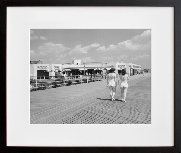 Rockaway Beach, Food Concession, 1940 (framed + quick-ship)