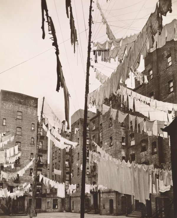 Court of First Model Tenement House in New York, 1936