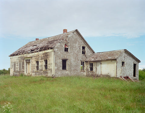Abandoned House; Digby Neck, Nova Scotia