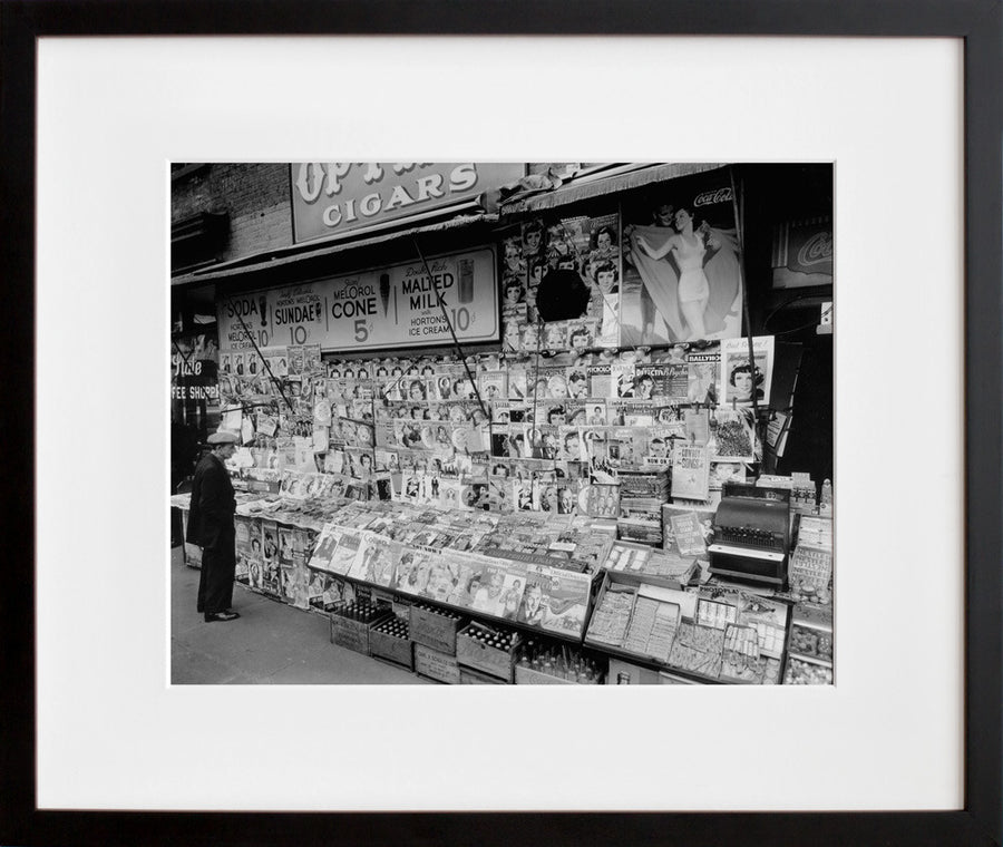 Newsstand, 32nd Street and Third Avenue, Manhattan