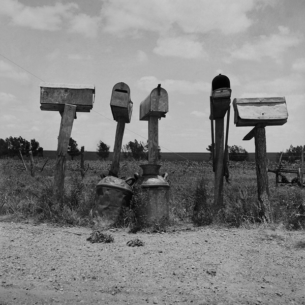 Mail boxes in Bell County, Texas