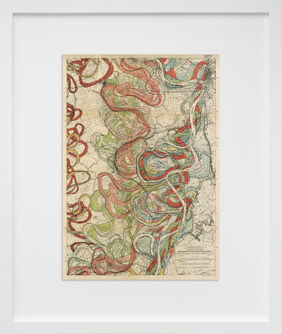Plate 22, Sheet 11, Ancient Courses Mississippi River Meander Belt