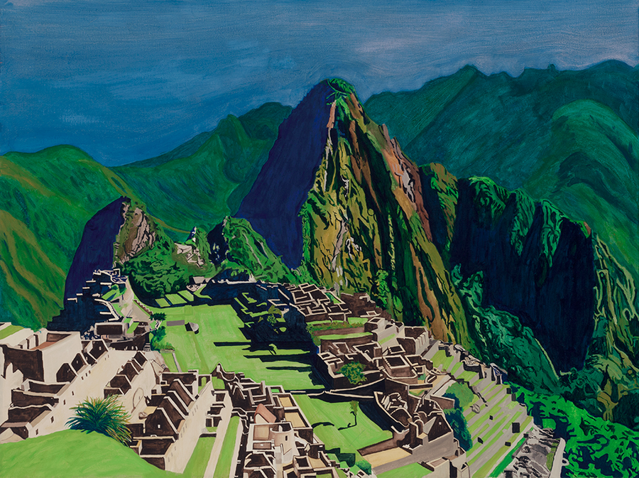 Machu Picchu, Holy Mountain series (quick-ship)