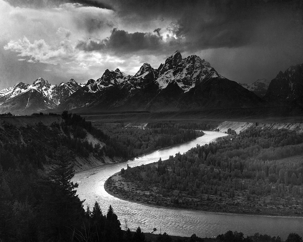 The Tetons, Snake River (quick-ship)