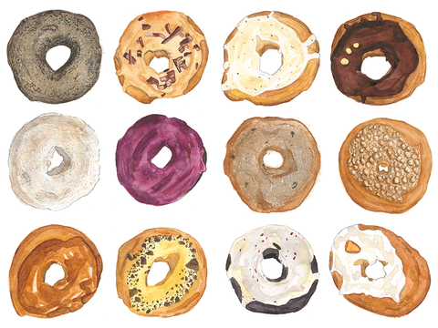 A Dozen Dynamic Donuts - Artist Proof