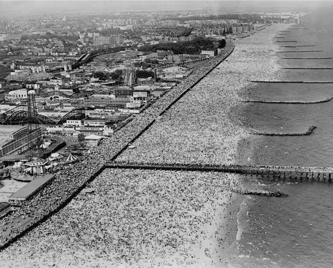 Coney Island Beach, June 10, 1947