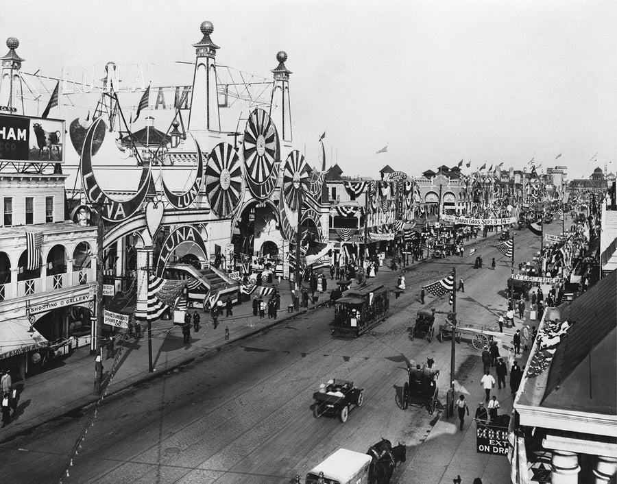 Coney Island, Luna Park and Surf Avenue, 1912