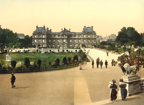 The Luxembourg Palace, Paris, 1900