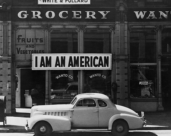 I Am an American, Oakland, CA, March 1942 (quick-ship)