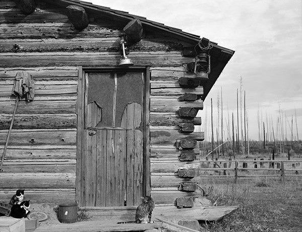 Log Home, Priest River Peninsula, Bonner County, Idaho