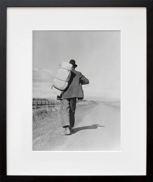Migrant Worker on California Highway