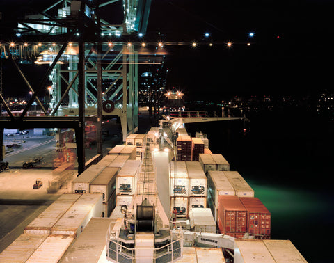 Unloading, Port of Miami